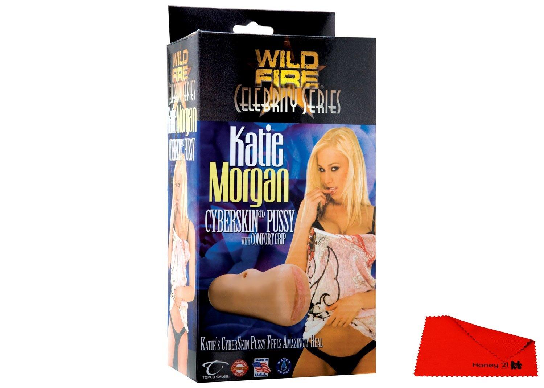 Amazon.com: HU1112637 Wildfire Celebrity Series Katie Morgan CyberSkin  Pussy MASTURBATORS SEX TOYS: Health & Personal Care