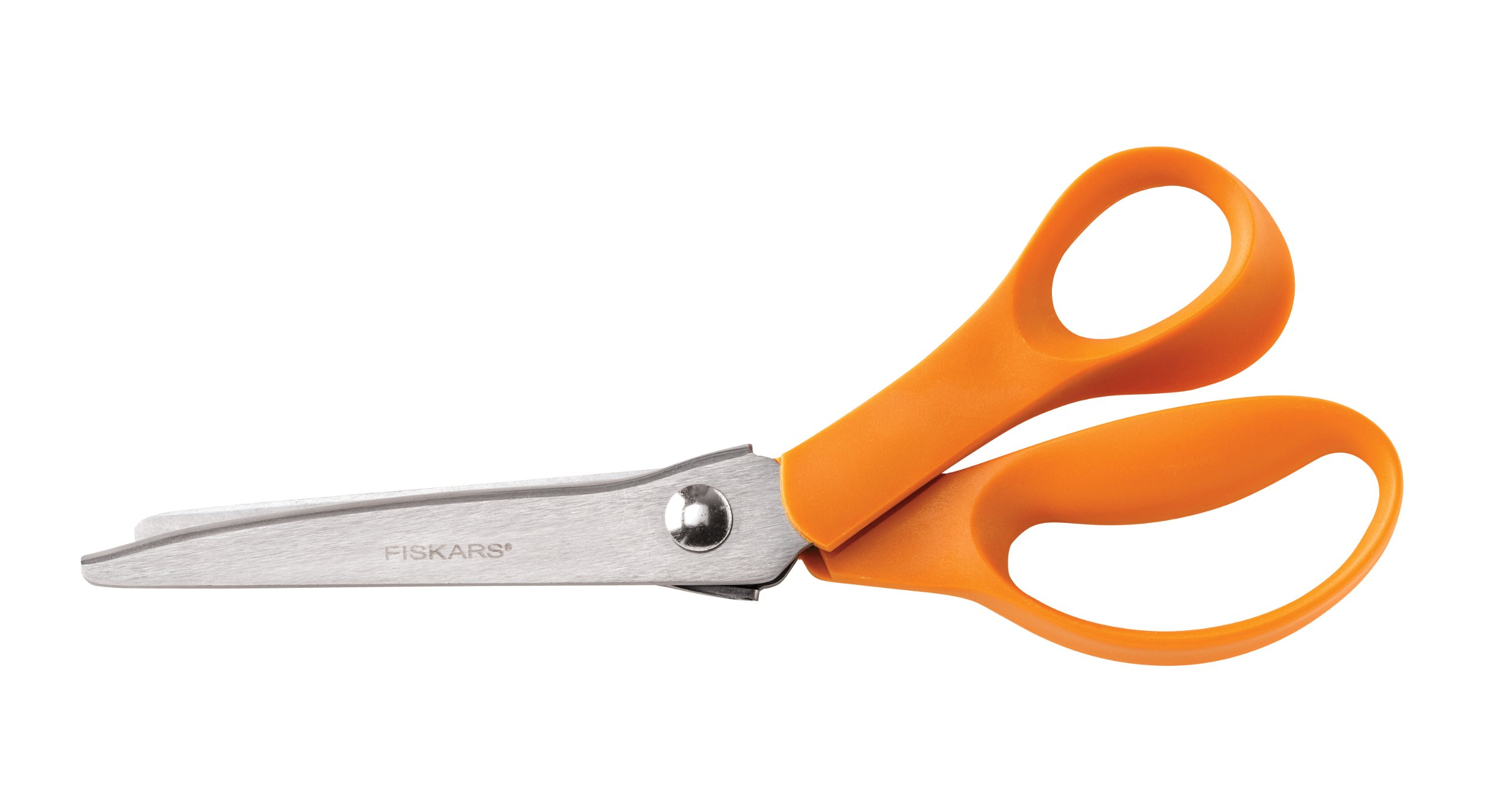 Tijera : Fiskars 12-94458697WJ Pinking Shears, 8 Inch, Or...