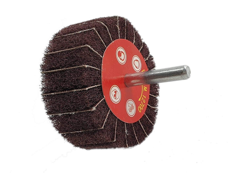 Vliesschleifer Schleifmop Schleifstift Vliesmop in verschiedenen Gr/ö/ßen und K/örnungen 30x25x6 K240