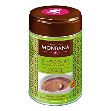 Monbana Powdered Almond Flavoured Chocolate, 250g