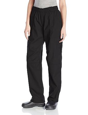 3955dae1b52 Amazon.com  Uncommon Threads Women s Grunge Cargo Chef Pant  Clothing
