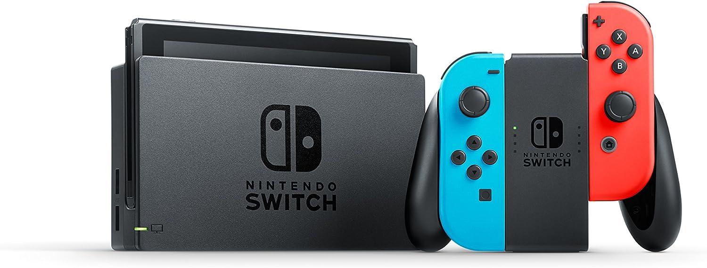 Nintendo Switch 32Gb azul/rojo neón + The Legend of Zelda: Breath of the Wild: Amazon.es: Videojuegos