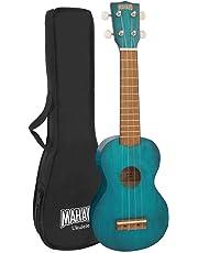 Mahalo 2500-BU/MK1  Kahiko Series Soprano Ukulele - Blue