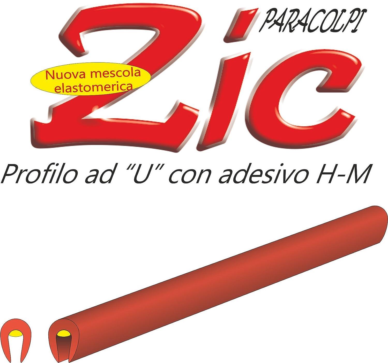 Quattroerre 12101 Coppia Profili Salvaporta per Auto, Colore Rosso, 650 mm Quattroerre Italia