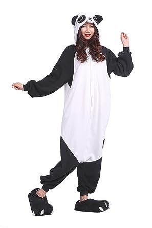 778c24f43b Amazon.com  YUWELL Adult Onesie Pajamas Zoo Forest Animal Sleepwear ...