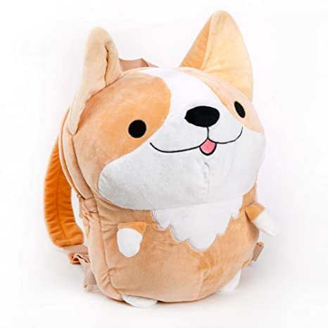 Popular Brand Cute Pet Dog Butt Plush Coin Bag Corgi Butt Shape Coin Purse Animal Plush Bag Creative Corgi Girls Bag Mini Purse Coin Purses & Holders