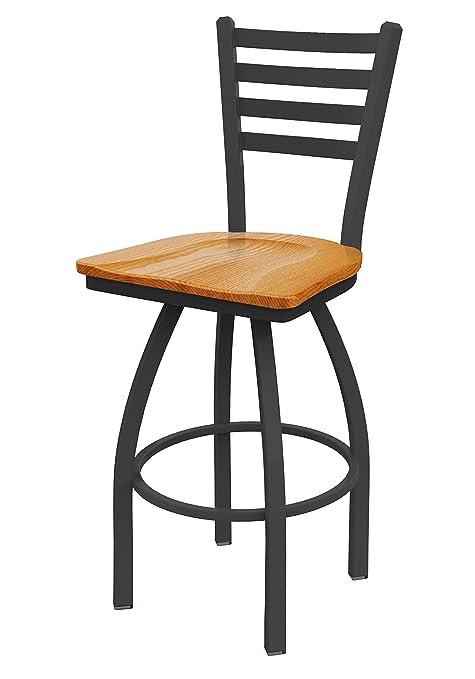 Strange Holland Bar Stool Co 41036Pwmedoak 410 Jackie Swivel Bar Stool 36 Seat Height Medium Oak Creativecarmelina Interior Chair Design Creativecarmelinacom