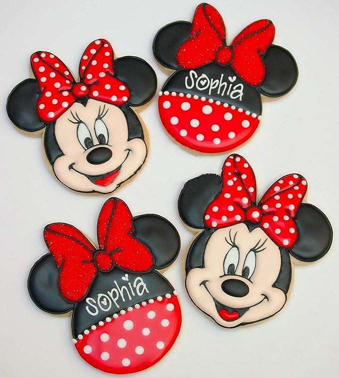 KENIAO Mickey Mouse Cortadores Galletas para Niños - 5 Piezas ...