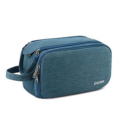 Amazon.com: Gonex - Neceser de viaje con cremalleras de ...