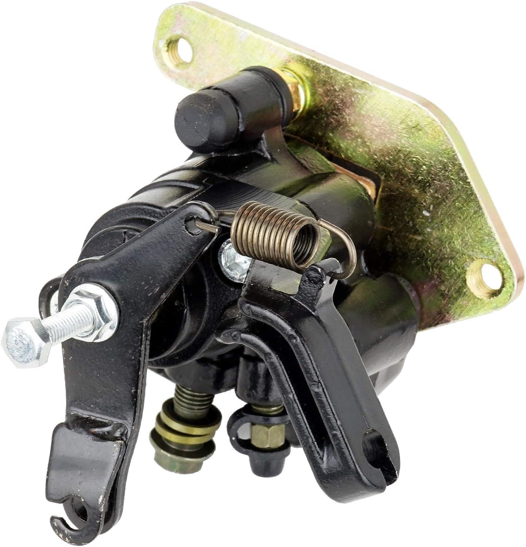 Caltric Rear Brake Caliper w//Pads for Yamaha 5LP-2580W-00-00 5LP-2580W-10-00