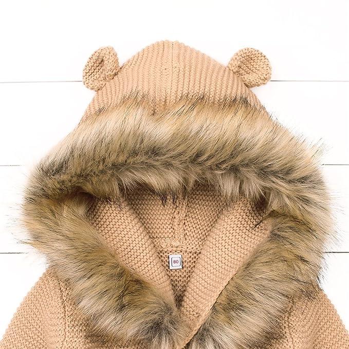 69fa27aedc26 mimixiong Baby Cardigan Sweater Cartoon Hoodies Long Sleeve Coats