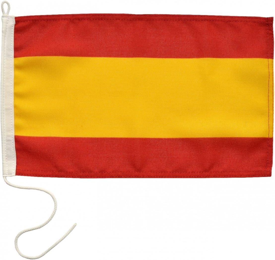 Azul marino Line de botellas bandera de España - 20 x 30 cm ...