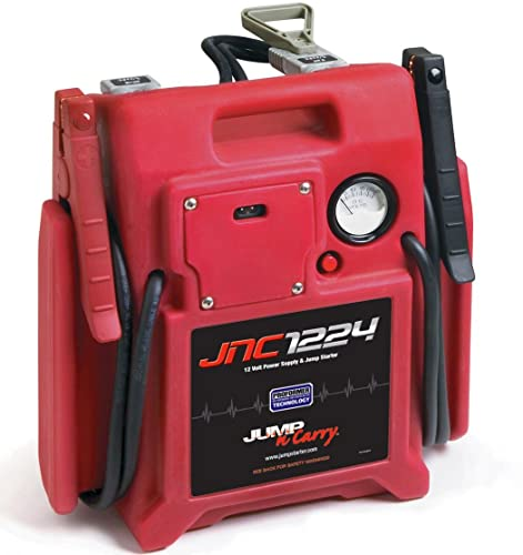 Jump-N-Carry JNC1224 3400/1700 Peak Amp 12/24V Jump Starter - Best Pure Power Jump Starter