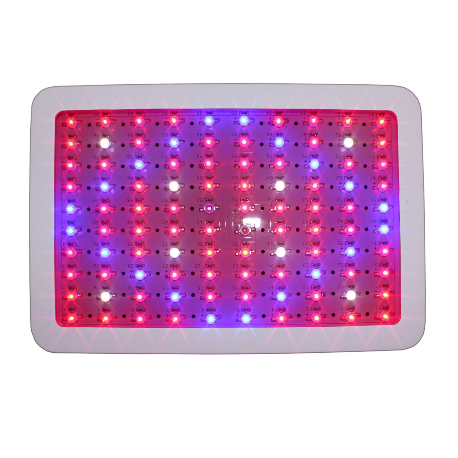 RYSA LIGHT LED Indoor Grow Light 1000W Full Spectrum Double Chips Growing Lamps with UV IR for Garden Plants Veg Flower Hydroponic Greenhouse by RYSA LIGHT (Image #3)