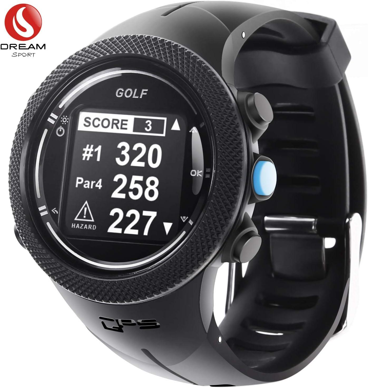 Reloj GPS para golf,Medidor de tiro y puntaje de grabación