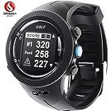 DREAM SPORT Golf GPS Watch with Golf Course, Golf Tracking Watch with Yardage Distance/Hazard/Range Finder/Score Card DGF3 Black