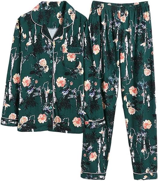 Camisones Pijamas Pijamas Femeninos de Pijama Pijamas de algodón ...