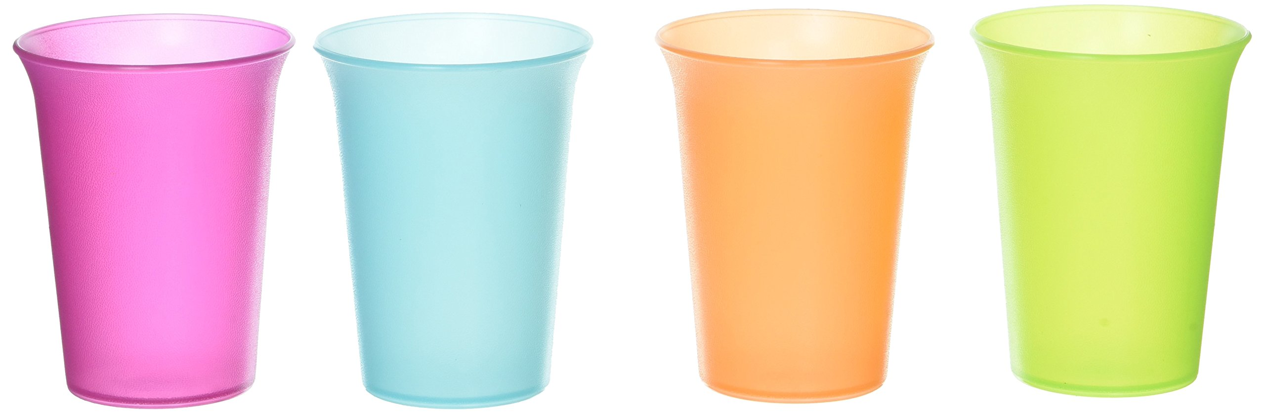 Tupperware 7 Oz. Bell Tumblers --- a Classic Must for Toddlers (setof 4)
