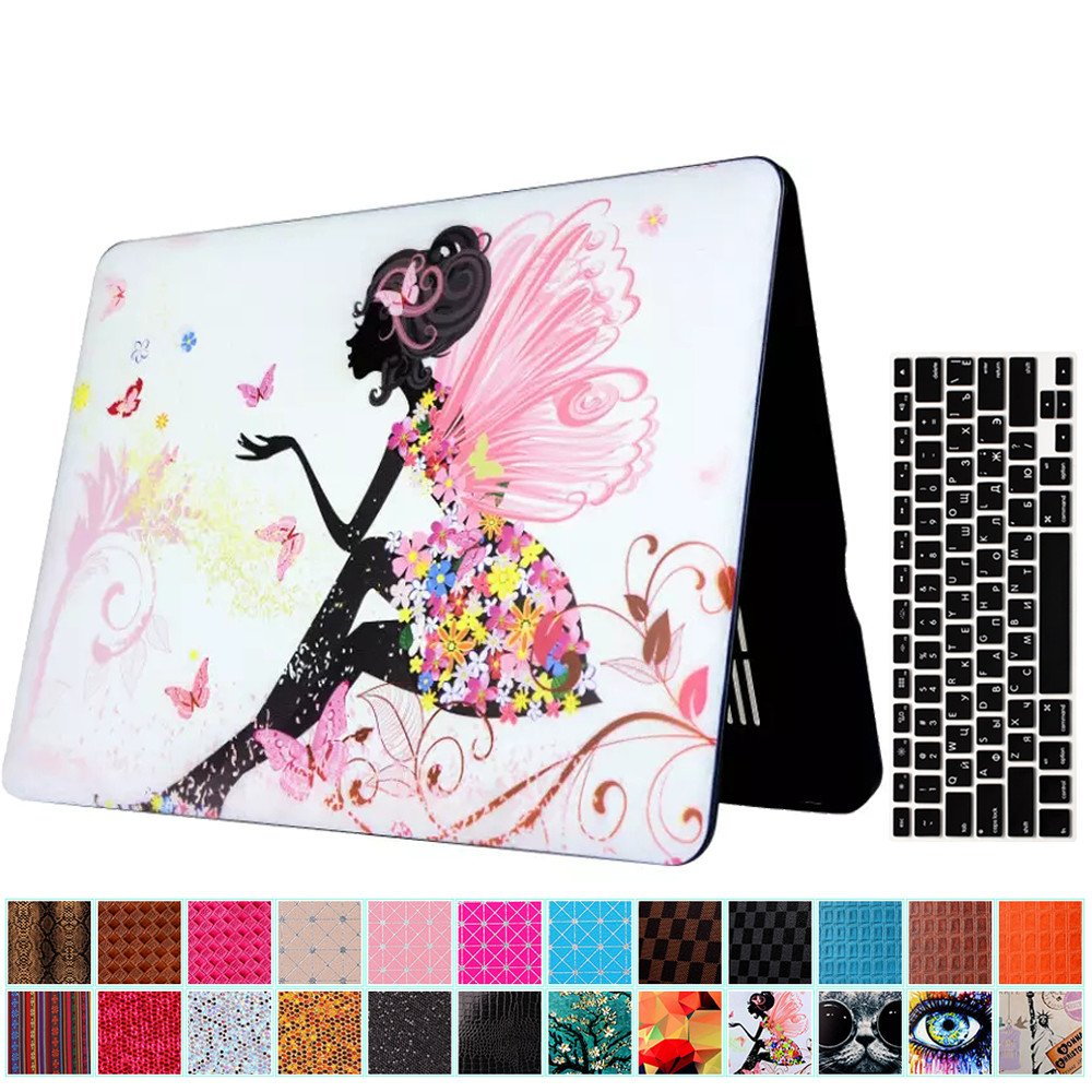 AY0070 Macbookシリーズ用ケース + キーボードカバー プロテクター Macbook Air 13 VA0048-13.3Air-Afeather &Bead B0757FY1QC Macbook Air 13,Afeather &Bead