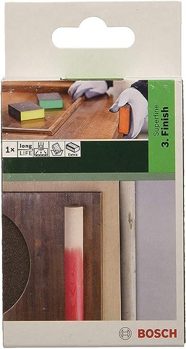 Bosch Sanding Sponge for Colour Filler Paint Wood Metal and Plastic