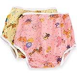 Rearz - Nursery Print Plastic Pant - High Waist (Pink, Large)