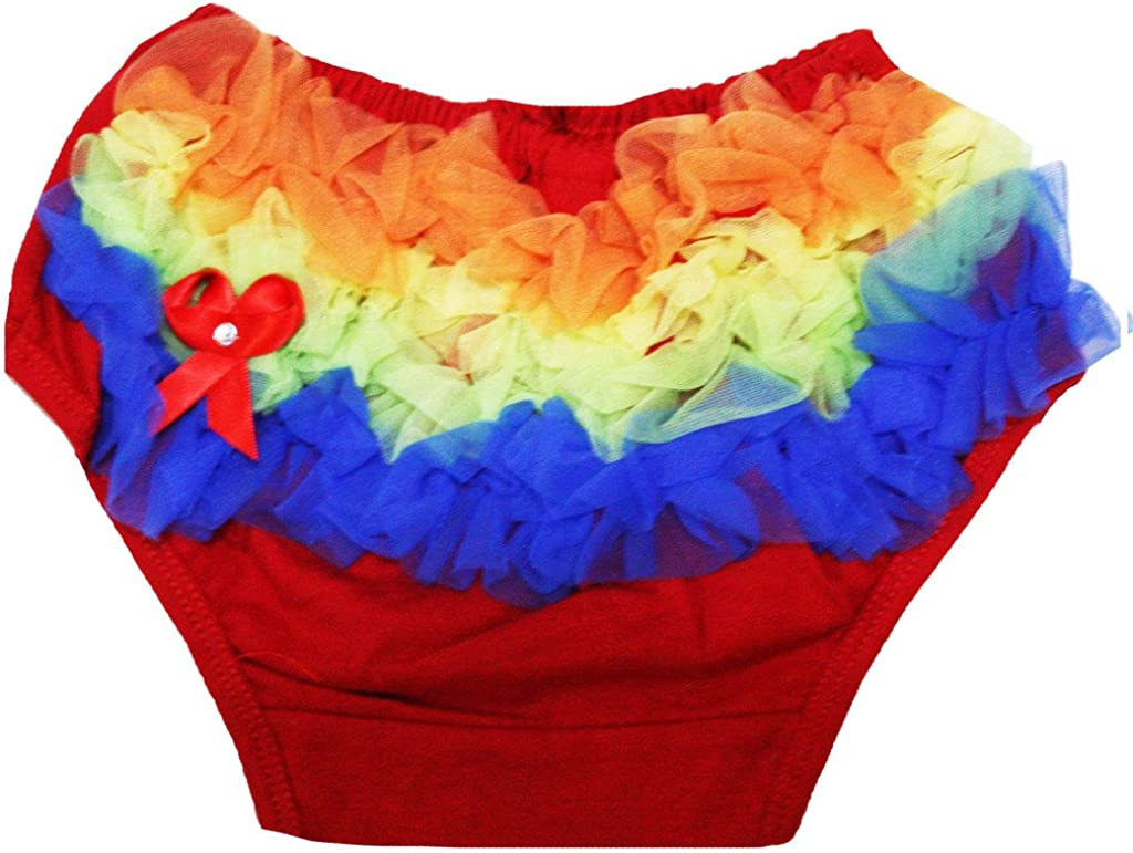 Leaf Sison Dress Multi Colored Ruffles Cotton Bloomer for Baby 6-24m