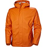 Helly Hansen mens Moss Hooded Fully Waterproof Windproof Raincoat Jacket