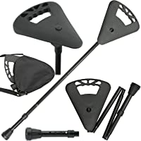 Flipstick Fold Away Lightweight Adjustable Walking Stick/Cane and Seat from