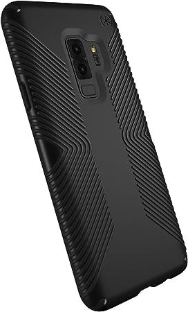 Speck Coque Protectrice Antidérapante pour Samsung Galaxy S9 Plus Housse Etui Anti Choc Durable Résistant pour Téléphone Portable Smartphone Android - ...