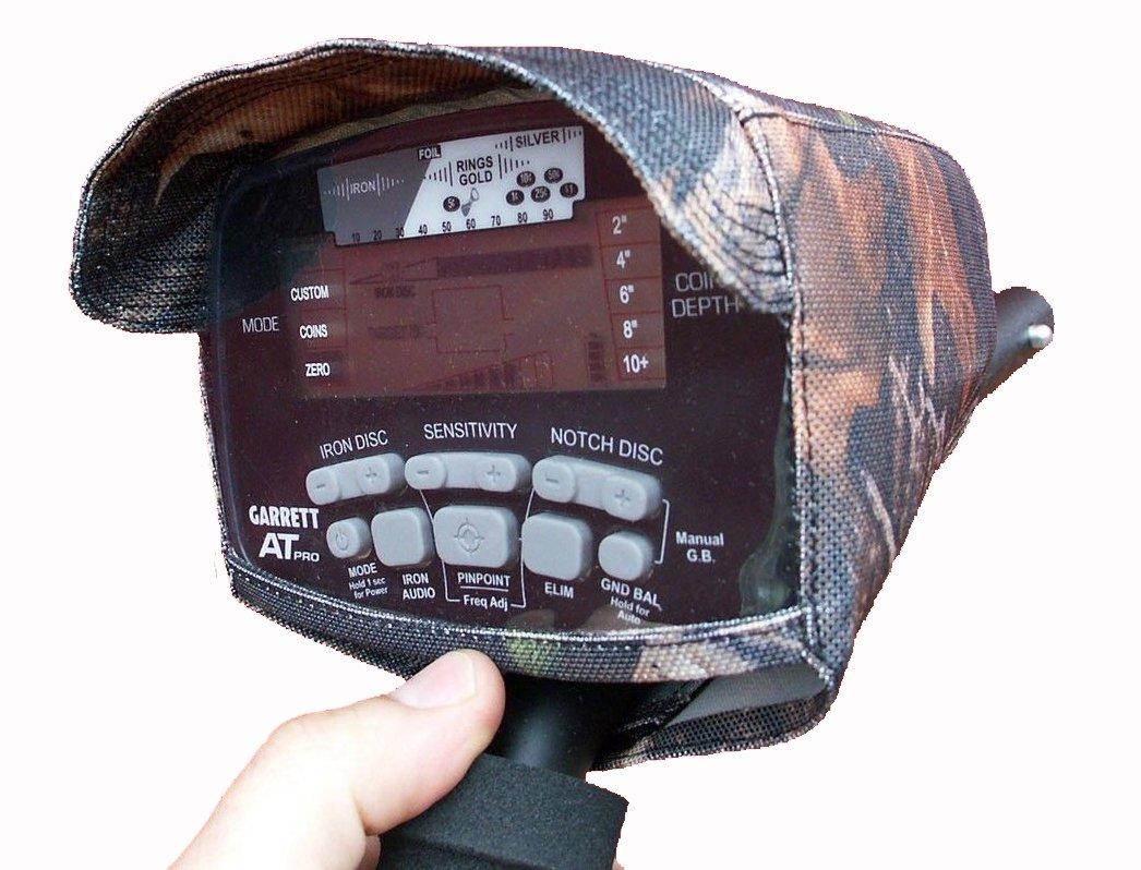 DetectorCovers Garrett AT Pro DE LA Tapa DE LA Caja DE Control del Detector DE Metales con Visera, EN 600 Camo Paño DE PVC: Amazon.es: Deportes y aire libre