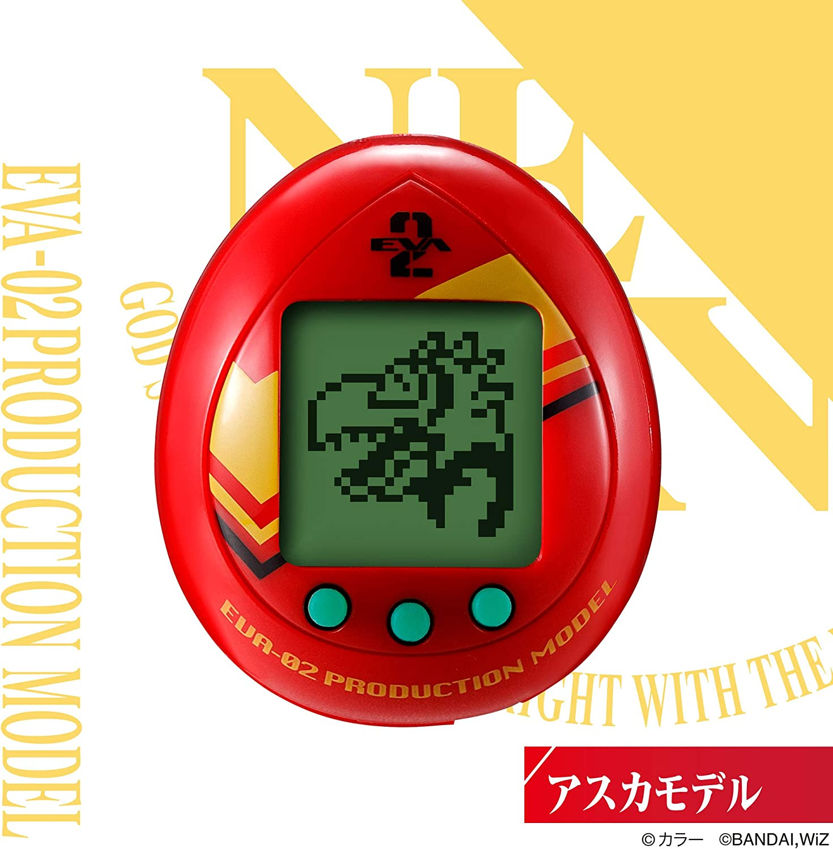 EVANGELION×TAMAGOCHI Evacchi Rei Ayanami model Limited JAPAN