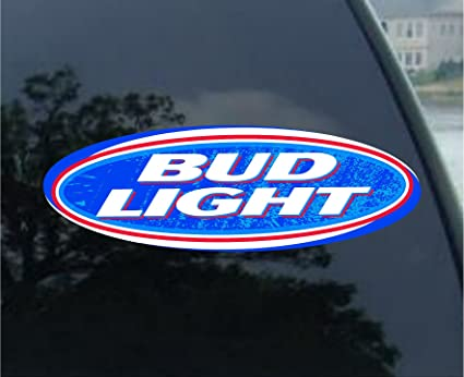 Nice 5u0026quot; Bud Light Beer Company Decal Sticker Gallery