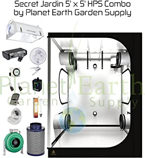 Secret Jardin Grow Tent (5u0027 x 5u0027) HPS Combo Package #6  sc 1 st  Amazon.com & Amazon.com : Secret Jardin Grow Tent (10u0027 x 10u0027) HPS Combo Package ...