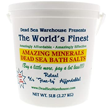 Dead Sea Warehouse - Amazing Minerals Dead Sea Bath Salts, Temporary Relief  From Dry Itchy