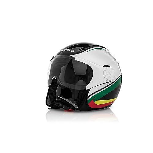 Acerbis 0021662.315.061 x-jet en casco de la bici, color negro/