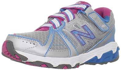 e6765b6c56590 New Balance KV689 Tie Running Shoe (Little Kid Big Kid)
