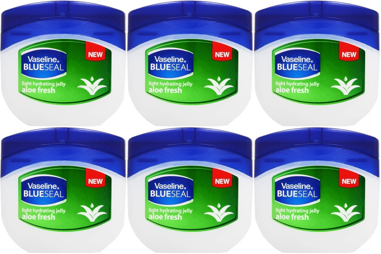 Vaseline Light Hydrating Jelly Aloe Fresh 50 Ml / 1.7 Oz (Pack of 6) by Vaseline