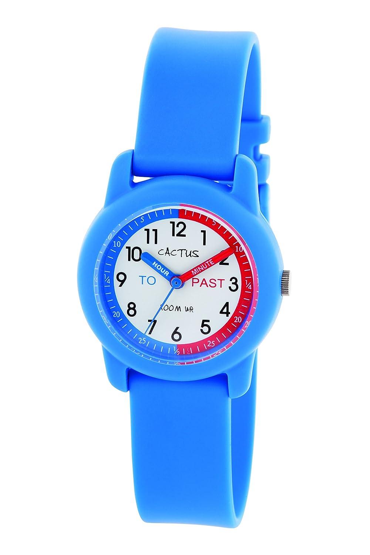 Cac 69 De Pulsera Cactus NiñosPlásticoColor Azul M03 Reloj 8n0vwmNO