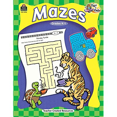 Start to Finish:Mazes: Toys & Games