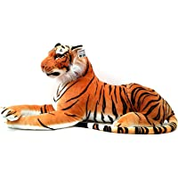 Rudra Big Tiger Sot Toy ,Stuffed Animal Plush Cat ,Indian Tiger 35 cm Pack of 1