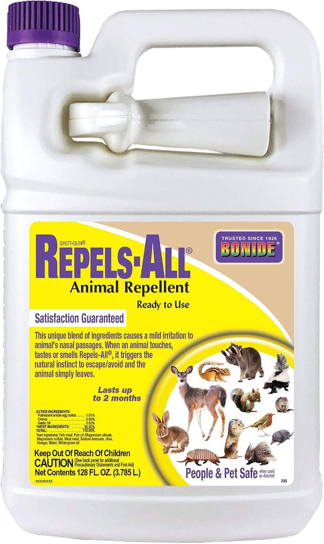 Bonide Chemical Co 239 037321002390 Shot Gun Rtu Animal Repellent, 128 fl oz, 1 gallon, Brown/A