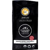 Kicking Horse Coffee, Smart Ass, Medium Roast, Ground, 284 g - Certified Organic, Fairtrade, Kosher Coffee