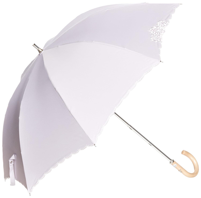 (ムーンバット) MOONBAT ランバンコレクション ショート傘(遮熱&遮光) 軽量 晴雨兼用傘 KOKAGEMAX×オーガンジー B07872M6F7 日本 親骨の長さ47cm-(FREE サイズ) ライトパープル ライトパープル 日本 親骨の長さ47cm-(FREE サイズ)