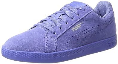 77026544cb9 Women s Smash WNS Perf Sd Baja Blue-Baja Blue Leather Sneakers - 7 ...