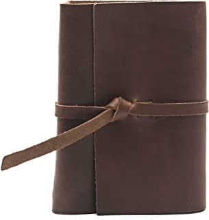 product image for Rustico Premium Handcrafted Top Grain Leather Photo Album for 4x6 Photos with Old World Style Flap Closure