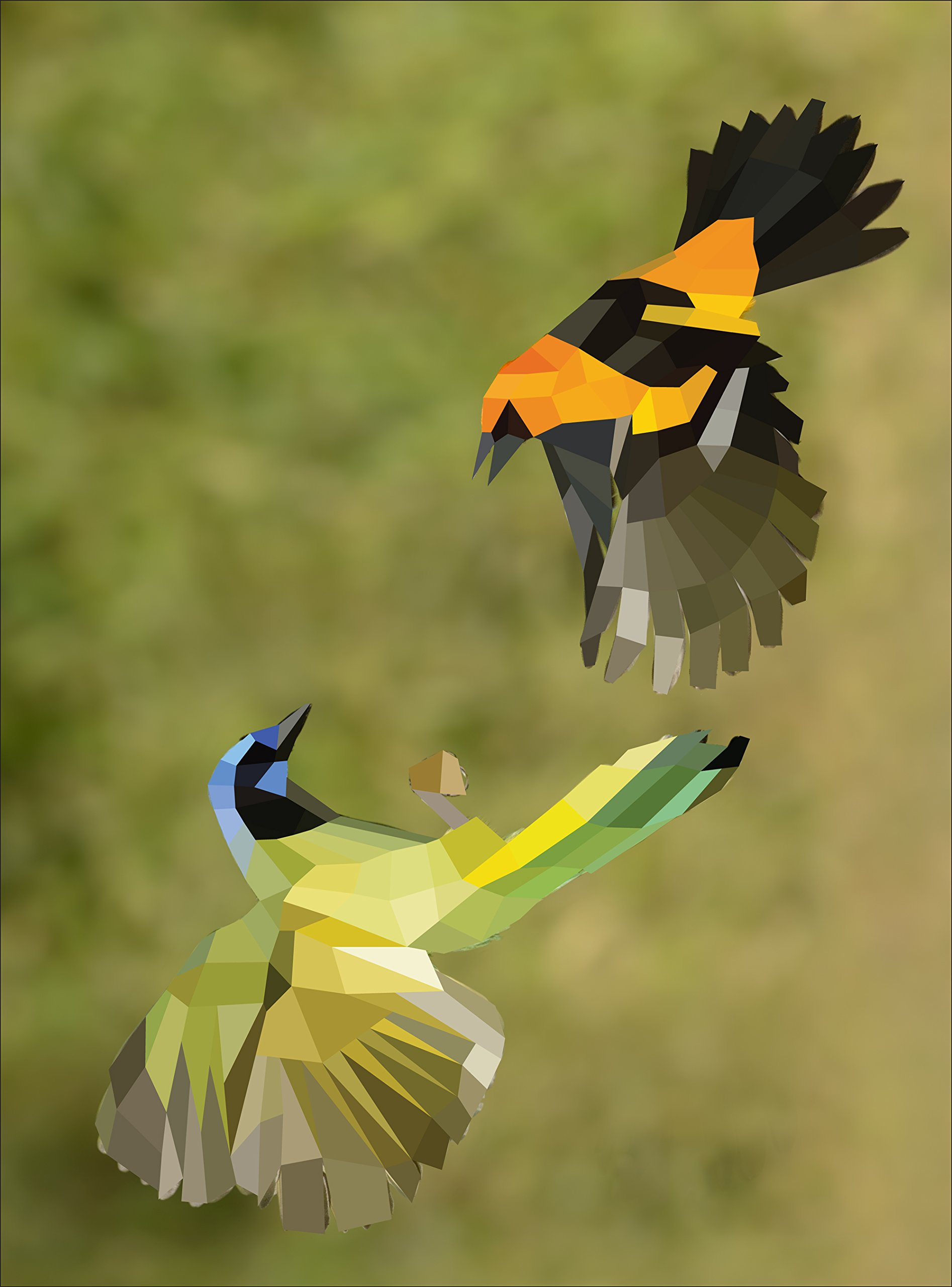 Paint by Sticker: Birds: Create 12 Stunning Images One Sticker at a ...