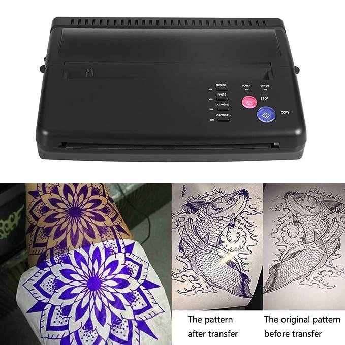 DXXCV Kit de máquina de Transferencia de Tatuaje térmico ...