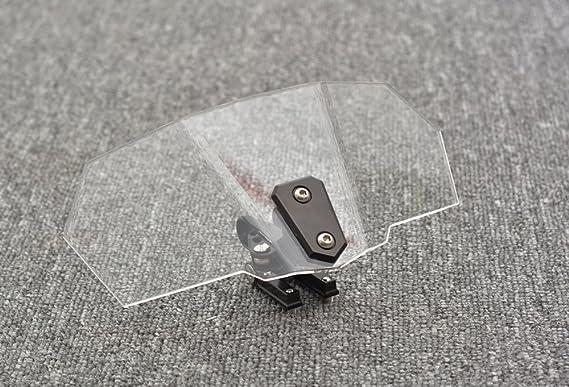 Tencasi Deflector de viento de parabrisas universal para motocicleta: Amazon.es: Coche y moto