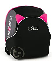 Trunki BoostApak - Travel Backpack & Child Car Booster Seat for Group 2-3 (Pink)