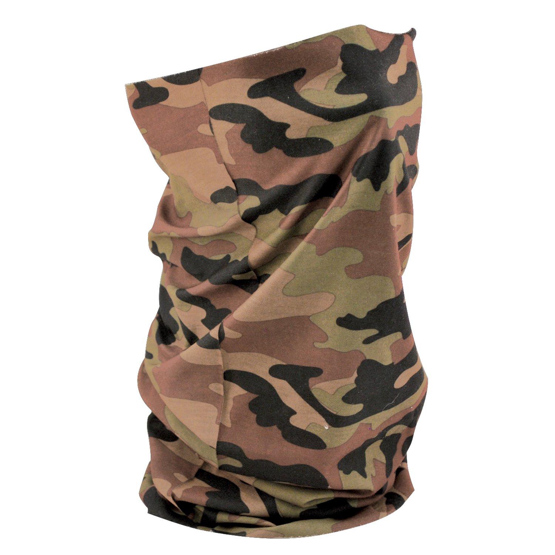 ZANheadgear Headwear / Tubo Panno multifunzionale per l'uso quotidiano, Moto, Sci, Snowboard, ecc T118